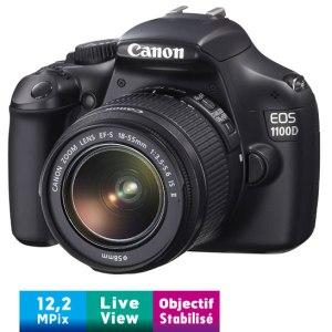 Canon 1100D Appareil photo numérique Réflex 12,2 Mpix