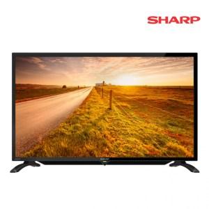 "Télévision Sharp 32"" pouces (80 cm) LED TV avec support mural offert RD"