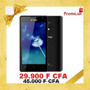"""X-Tigi V3 Ecran 4"""" HD Mémoire 8 Go Ram 512 Mb Dual Sim"""