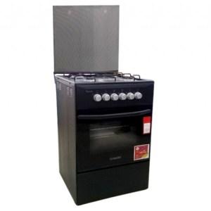 Cuisinière 4 feux Ferre dimension 50x50 noir