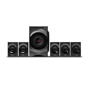 Home cinéma Woofer Philips 120W Tuner FM Bluetooth Multimedia Speaker 5.1