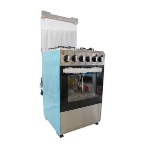 Cuisinière 4 feux Elbee dimension 50x50 inox allumage automatique IN