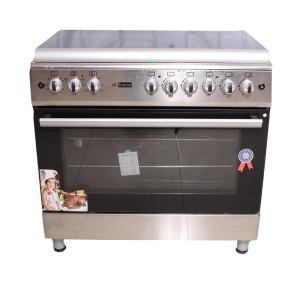 Cuisinière 5 feux GL-GENERAL dimension 90x60 inox Full option
