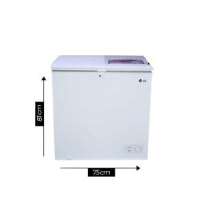 Congélateur LG horizontal capacité 130 Litres