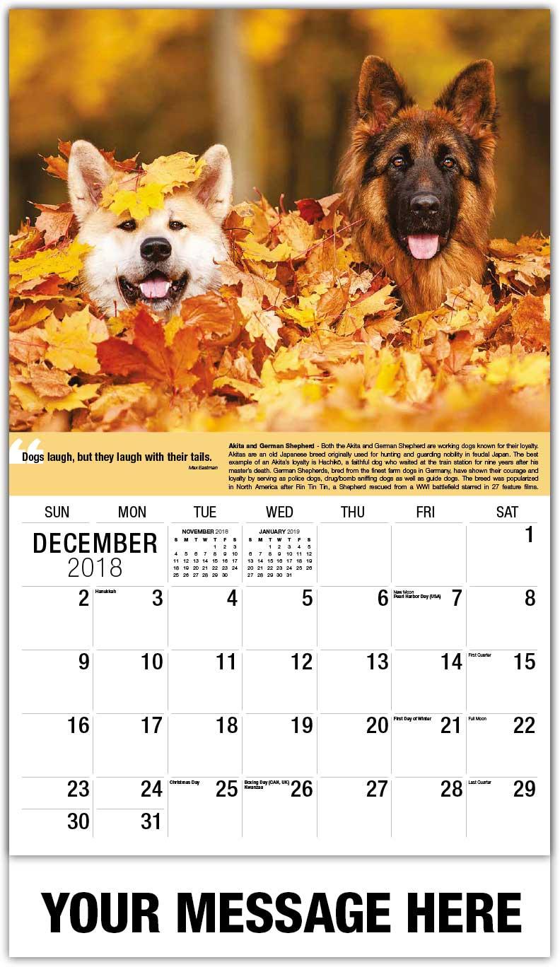 calendars december