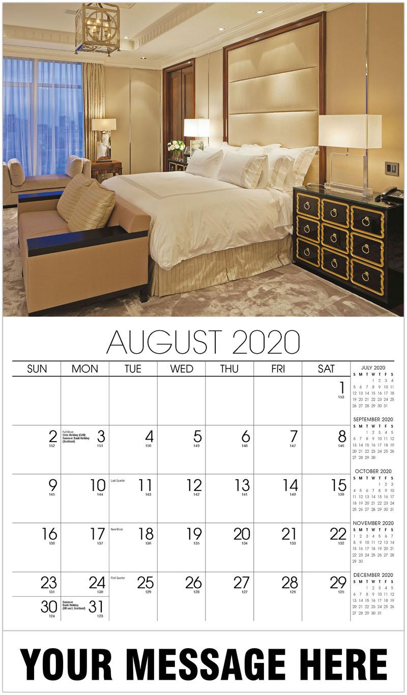 2020 Promotional Advertising Calendar  Decor  Interior