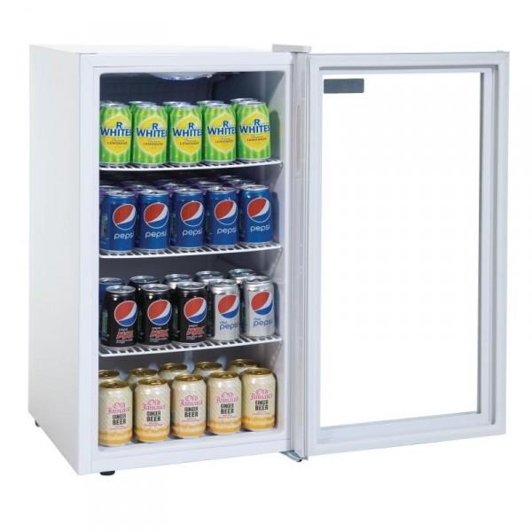 armoire refrigeree porte vitree table top