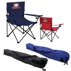 Folding Chair Outdoor Indoor Cushions With Ties Custom Chairs Promo Direct Event Double Sided Kit