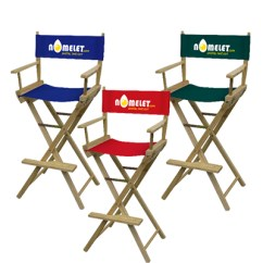 High Outdoor Folding Chairs Swivel Chair Explosion Custom Promo Direct Bar Height Directors