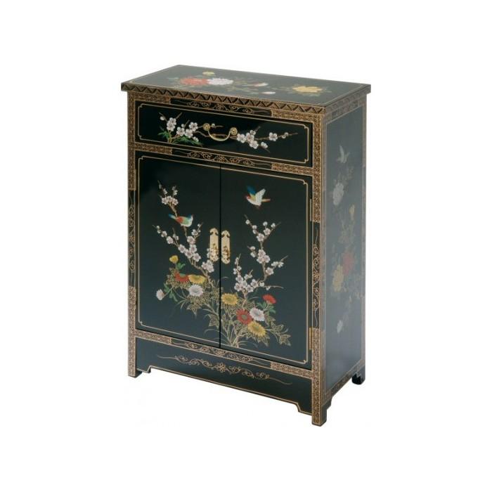 meuble chinois noir laque meubles chinois laques