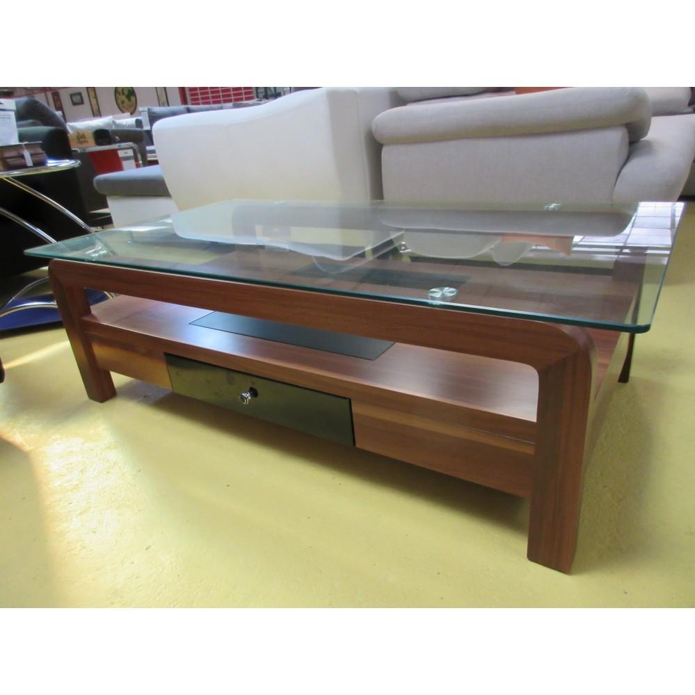 Table de salon verre et bois  Magasin du meuble asiatique et chinois