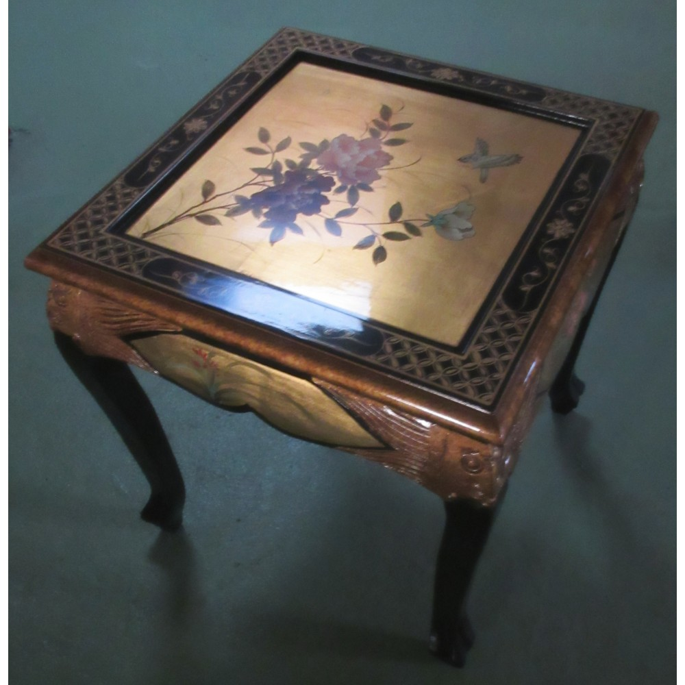 Table Basse Chinoise Laque Dor PromoDiscountMeubles