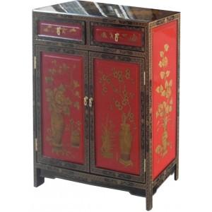 meuble d entree chinois rouge et noir meubles chinois laques
