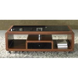 Elegant Table De Salon Design Sur Roulettes Table De Salon