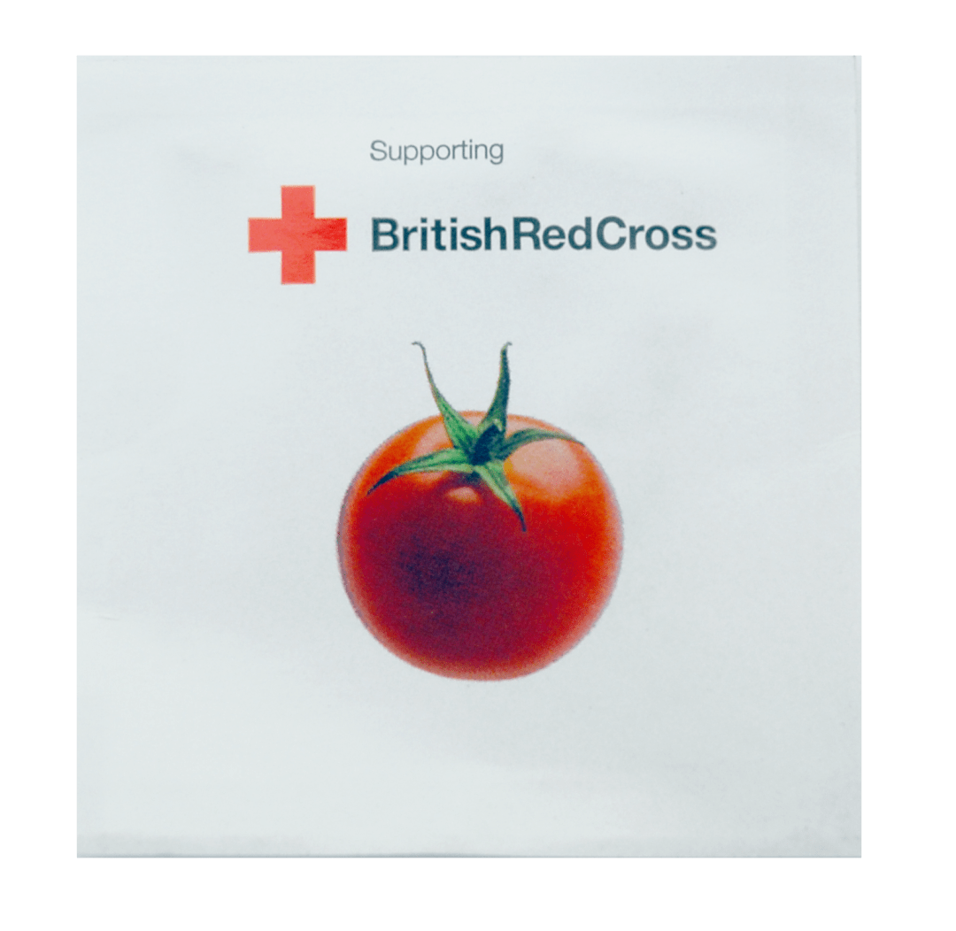 Britist Red Cross Bespoke Foil