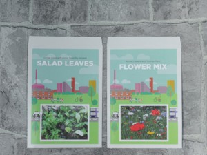 Promoflowers Salad Leaves Flower Mix