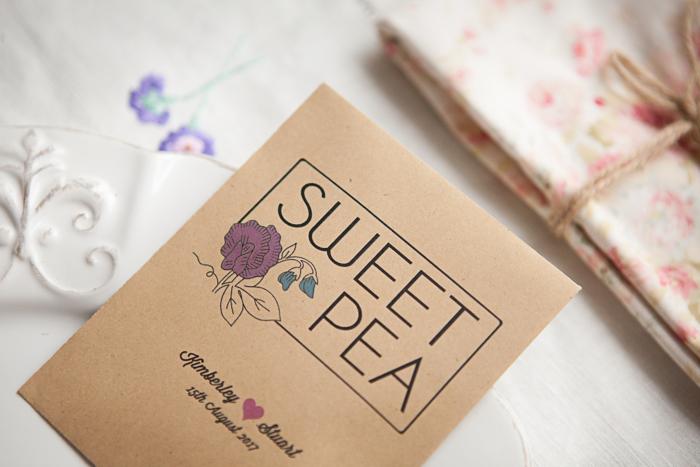 Sweet Pea Wedding Favour (2)