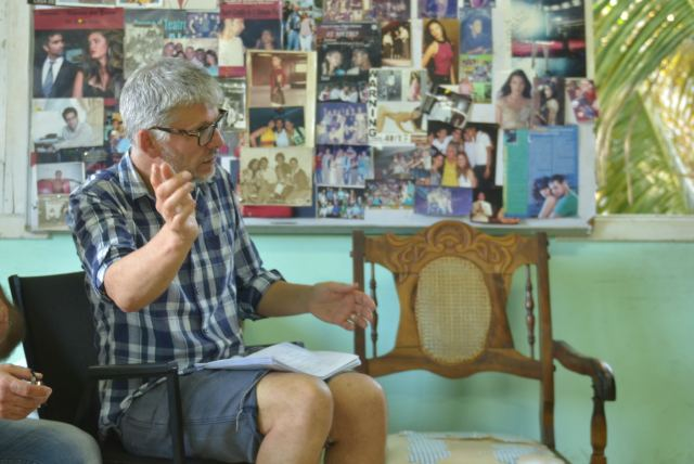 5.Director Paddy Breathnach on the set of VIVA, a Magnolia Pictures release. Photo courtesy of Magnolia Pictures.