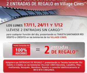 3 Días gratis en los Village con el Santanderrio