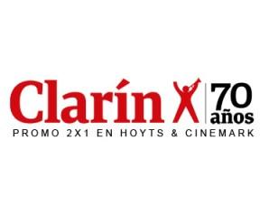 2 x 1 en Cinemark y Hoyts con cupón de Clarín