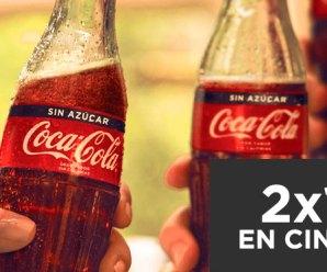 Promo 2×1 en Cinemark y Hoyts con Coca Cola