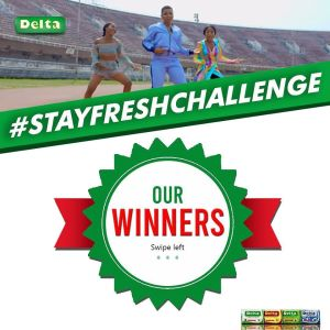 Winners of Delta Soap #StayFreshChallenge