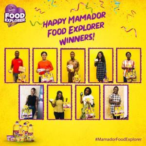 Winners of Mamador Food Explorer Challenge
