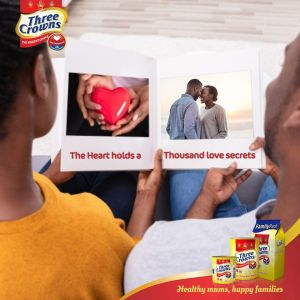 "Three Crowns Milk ""How We Met"" Valentine Contest !!!"