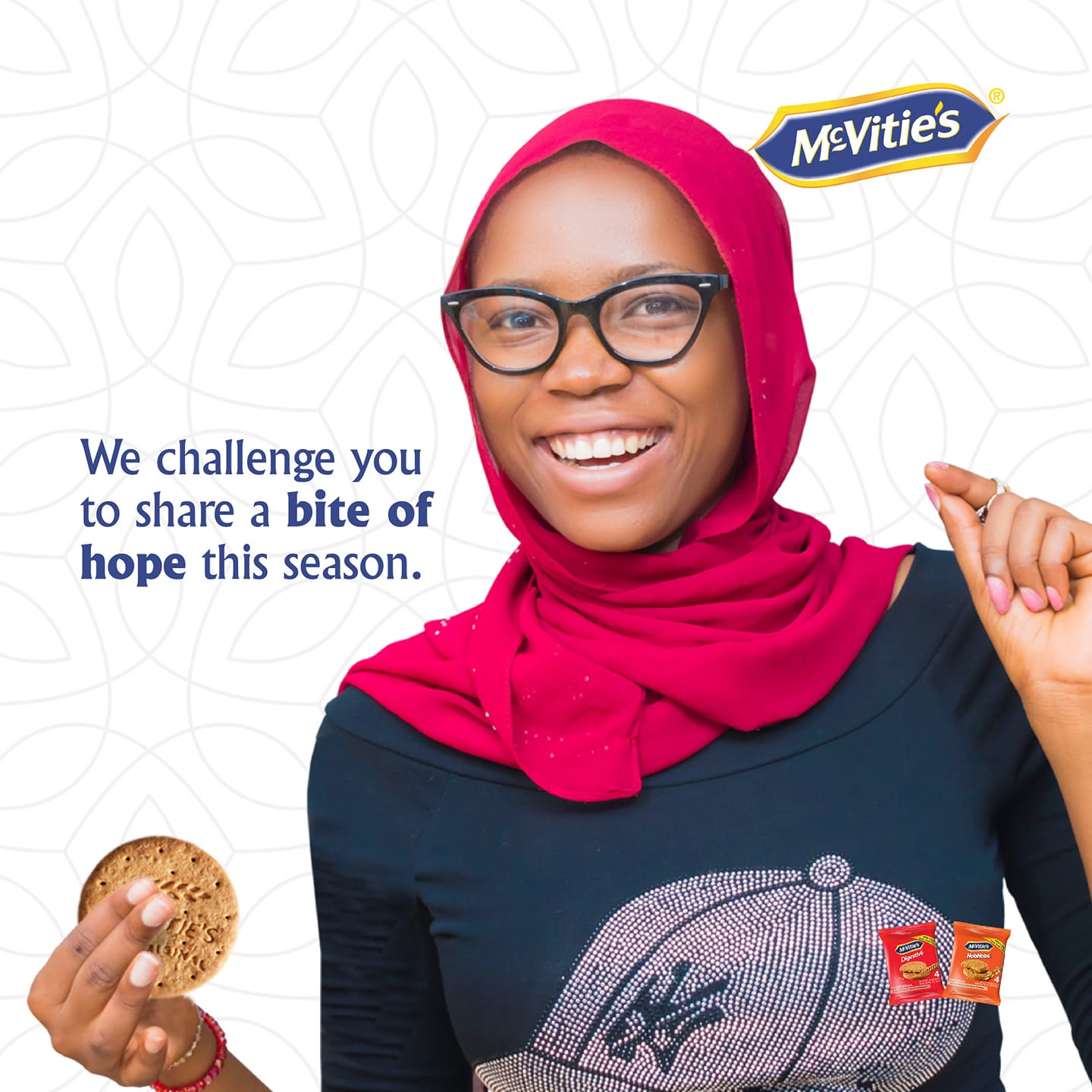 Win a Gift Box in McVitie's Nigeria Ramadan Challenge Tagged #ABiteOfHope.