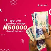 Argone Nigeria is Giving away N50,000, Grab your share.