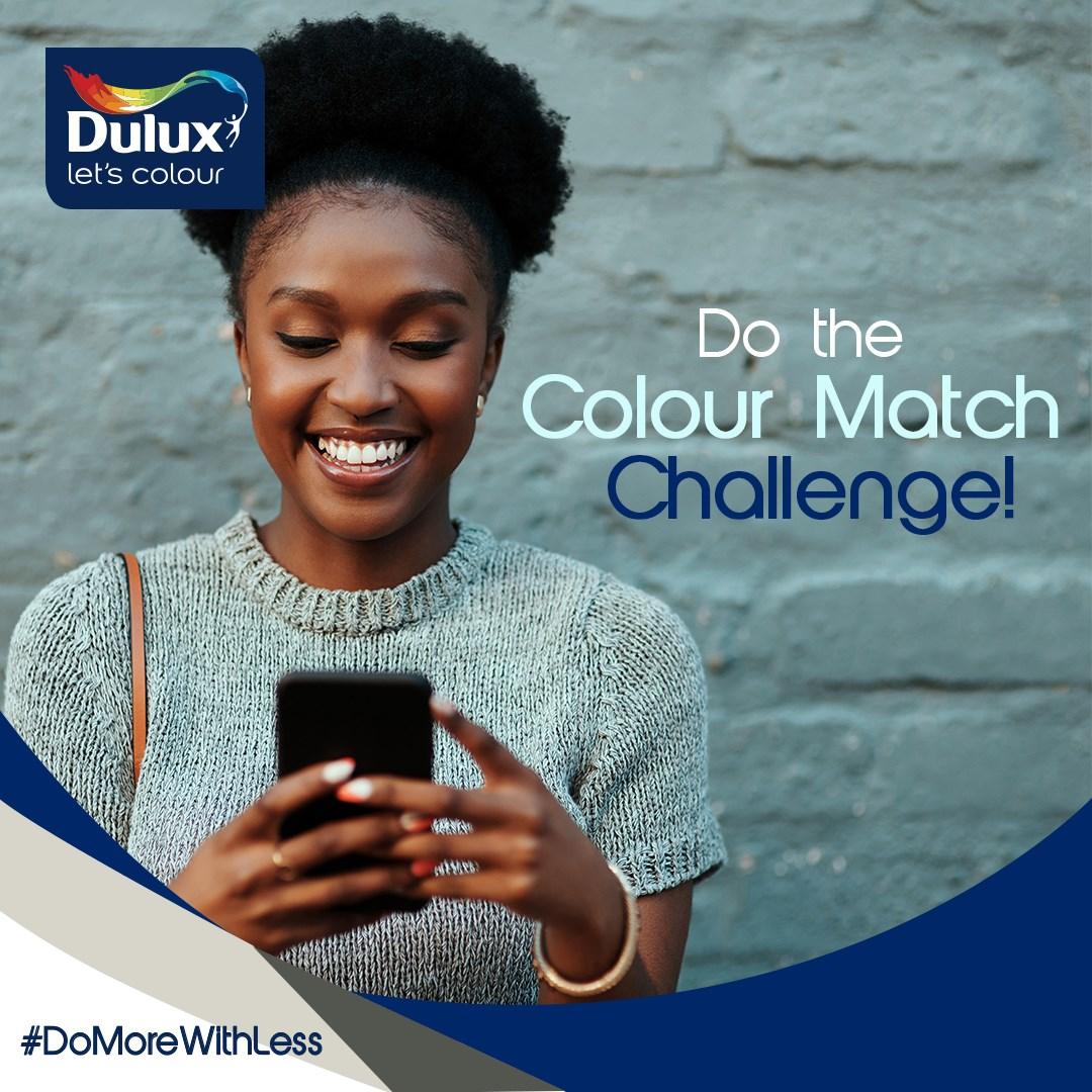 Win N15,000 in Dulux Nigeria Colour Match Challenge