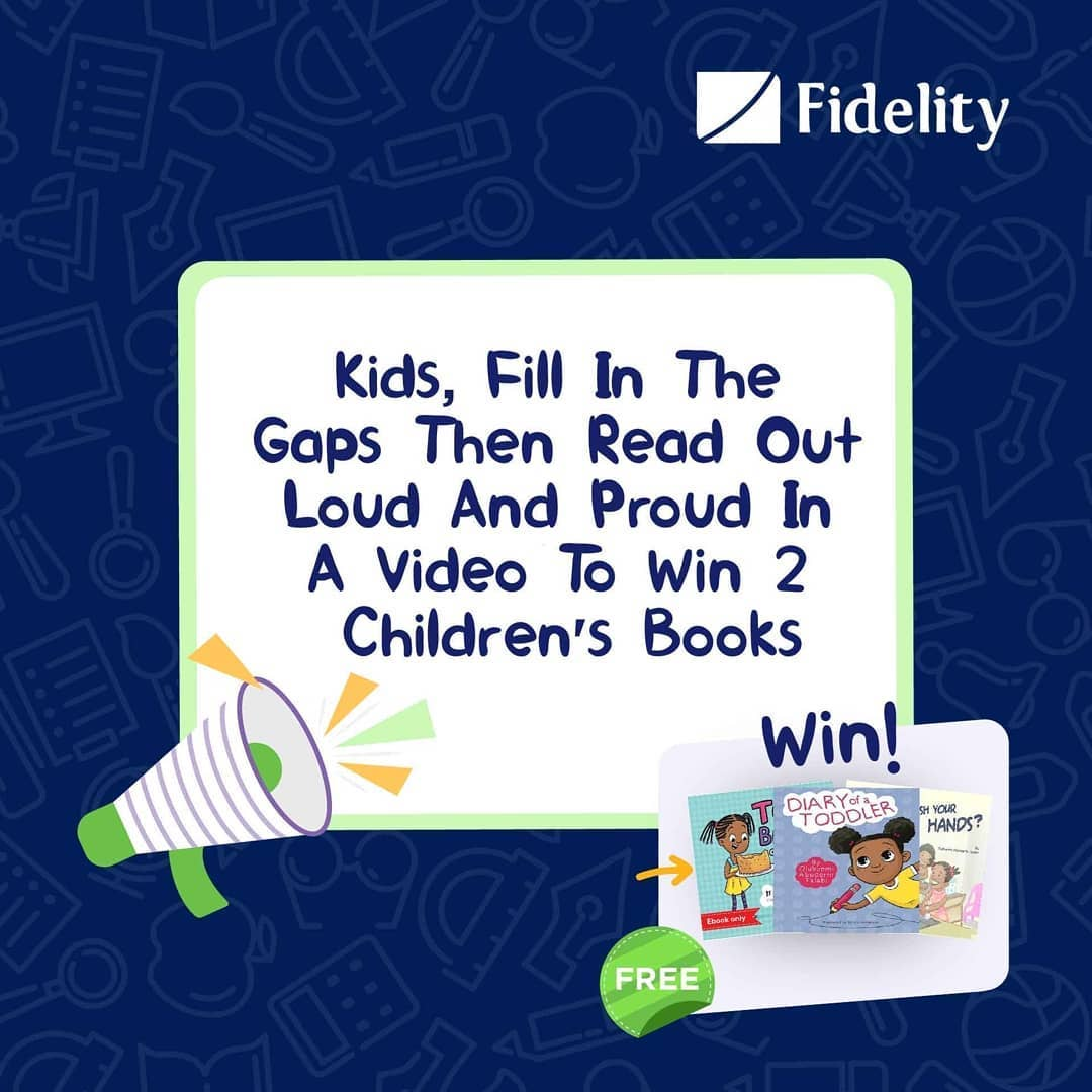 Win Books For your Children in Fidelity Bank Childrens' Day Giveaway.