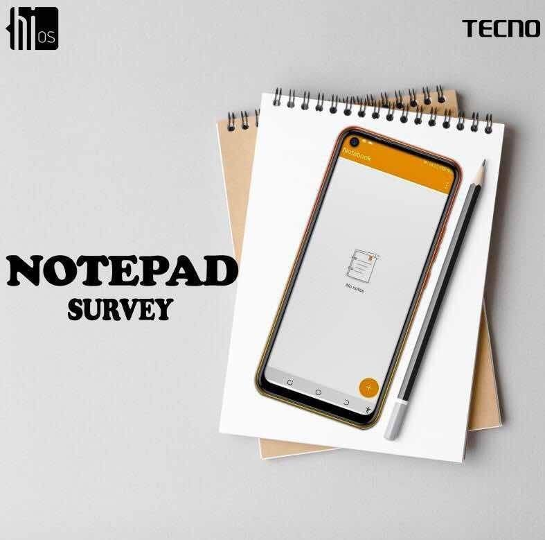 Take The HiOS NotePad Survey and You might Just Win a Gift.