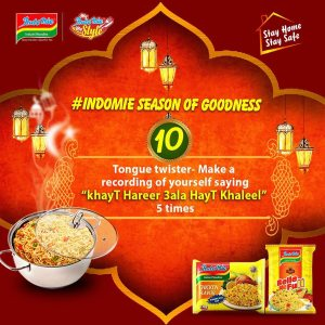 Indomie Season of Goodness Challenge 10, Two Cartons of Indomie for grabs