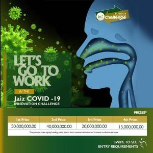 Jaiz Bank Covid 19 Innovation Challenge.