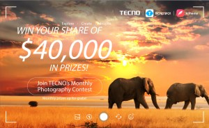 Win Your Share of $40,000 in Tecno Monthly  Photography Contest