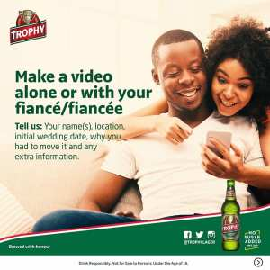 #TrophyLoveOnTrack Campaign, Win 500 Cans of Trophy Lager.