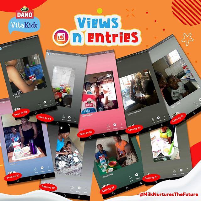 Winners of Dano Vita Kids Childrens Day Giveaway.