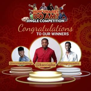 Winners of My Astymin How Una Dey Do Am Jingle Competition.