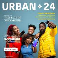 Become the Next Face of Oppo Nigeria and Win N1Million in the OPPO Reno3 Urban24 Contest.