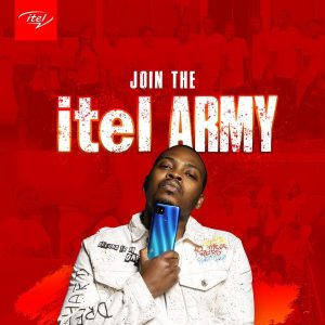 Join The itel Army and Win Loads of Weekly Prizes and Giveaways.