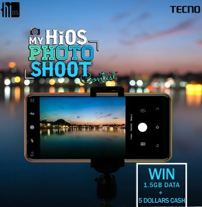 My HiOS Photo Shoot Contest, Win 1.5GB data bundle  + $5 Worth of airtime!