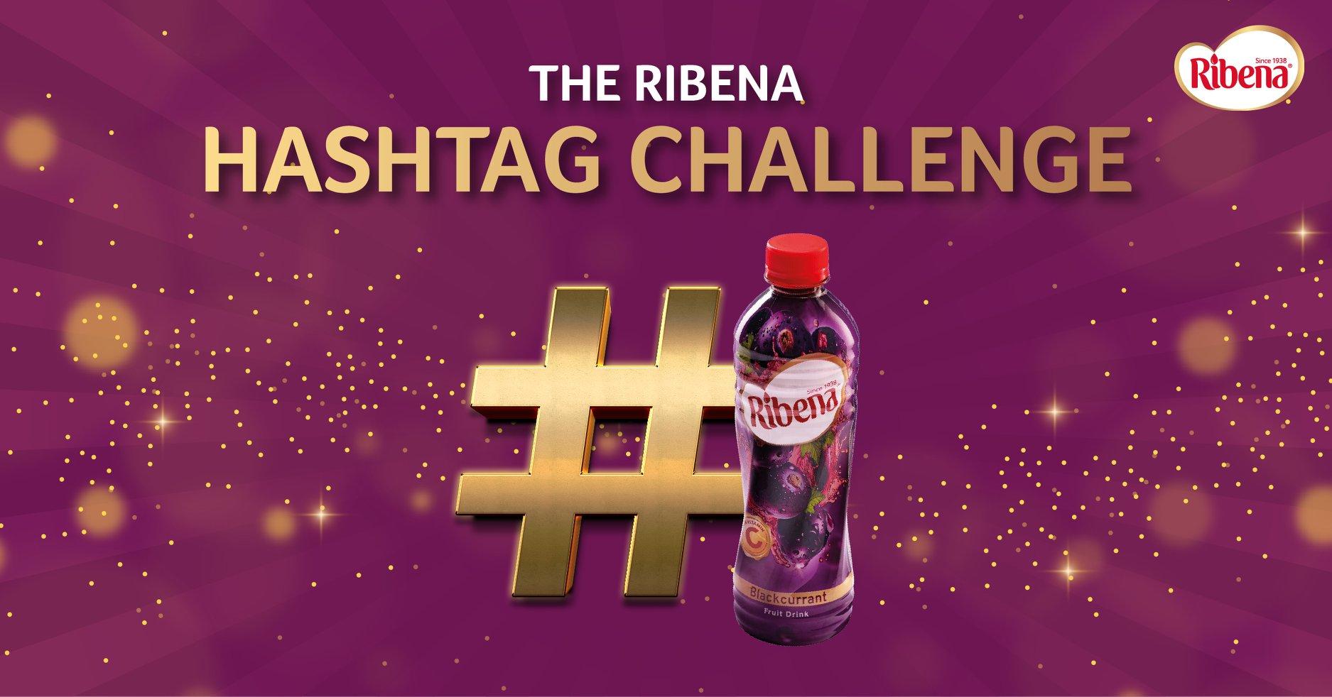 Win Products Supply in Ribena Hashtag  Challenge.