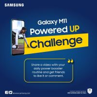 Win a Galaxy Fit in Samsung Galaxy M11 Powered Up Challenge.