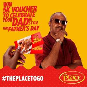 Win N5K Voucher in The Place Restaurant Fathers Day Giveaway.