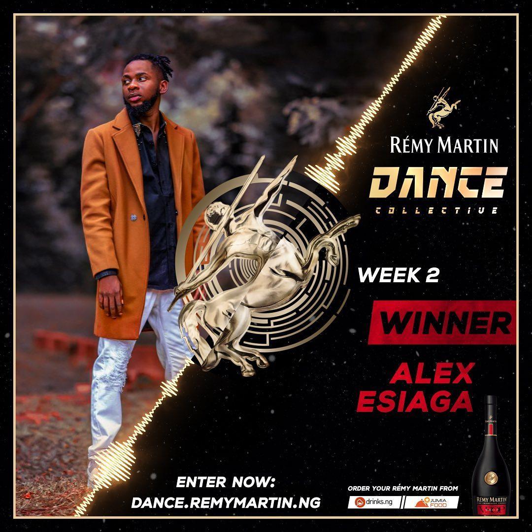 Meet The Week 2 Winner of Remy Martin Dance Collective, Alex Esiaga.