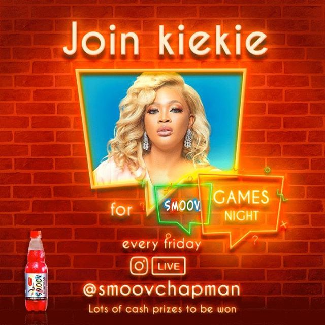Join the Smoov Chapman Game Night Tonight on Instagram @7pm For Chance to Win Prizes