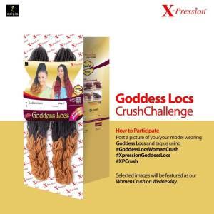 Expression Goddess Locs Crush Challenge.