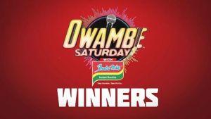 Indomie Nigeria Owambe Saturday Winners.