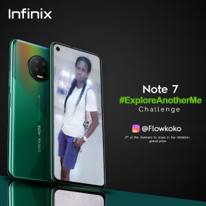 See the Winner in the Infinix #ExploreAnotherMe Challenge.